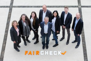 Das Backoffice-Team von faircheck