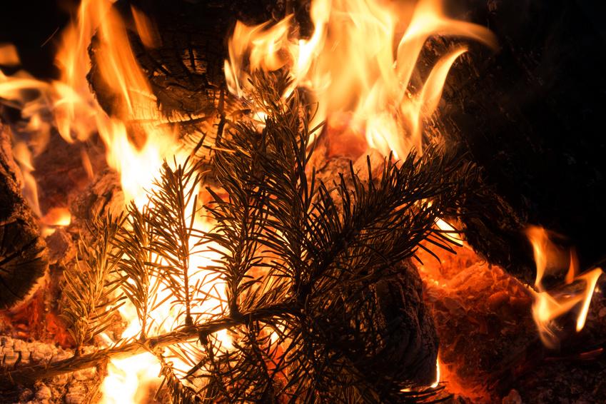 Brandgefahr in der Adventszeit
