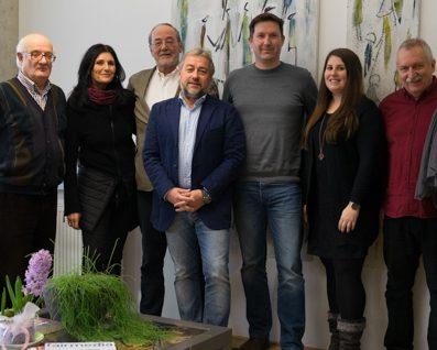 faircheck-Veteranen zusammen mit Andrea und Peter Winkler sowie den faircheckern Robert Langmann und Iris Schuster.