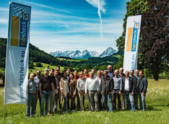 Team faircheck bei der KONfairENZ 2017 in Windischgarsten